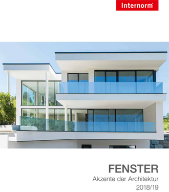 Internorm Fensterkatalog 2018/19
